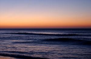 Strand abends