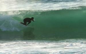 surfen an der westküste