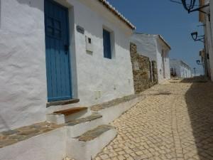 aldeia blaues haus